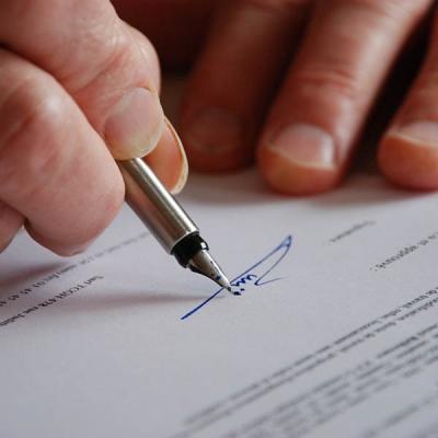 Résiliation de contrat